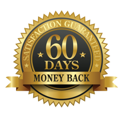 60 Days Money Back Satisfaction Guarantee